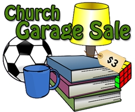 Image result for church garage sale