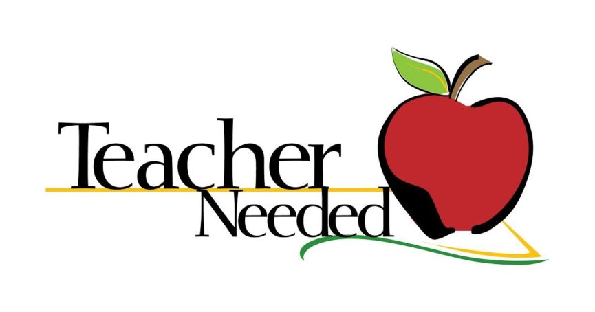 teacher needed