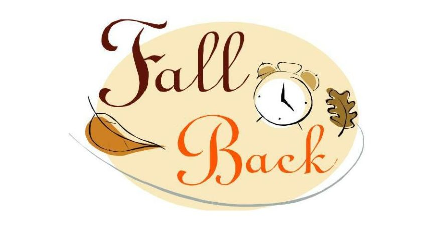 Daylight Saving Time ends fall back