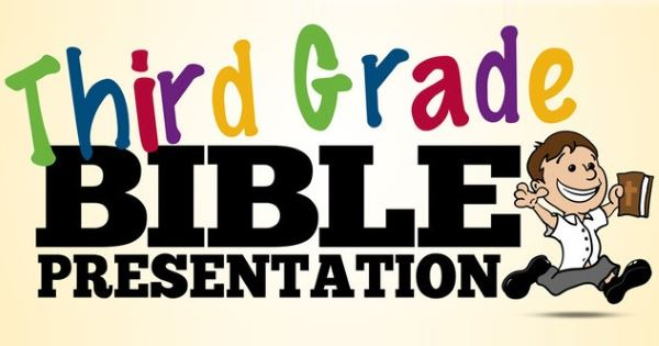 Third Grade Bible Sunday